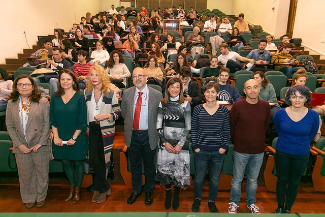 Inauguración del acto 'Mujeres protagonistas en la ficción… mujeres más libres en la vida real'