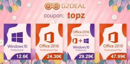 G2DEAL programinės įrangos akcija! Windows   12.6 EUR