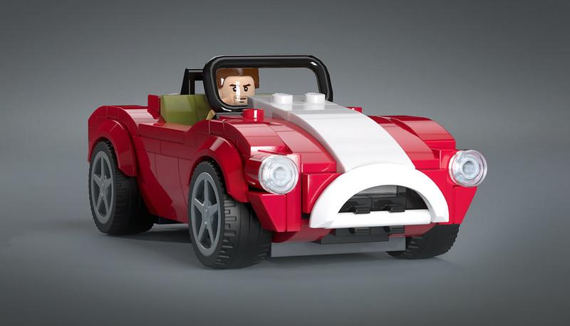 AC Schelby Cobra (red)