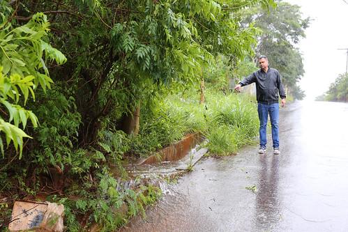 Visita técnica para vistoriar as condições estruturais da Rua Jerônimo Marcucci, devido às fortes chuvas que atingiram a capital - Comissão de Desenvolvimento Econômico, Transporte e Sistema Viário