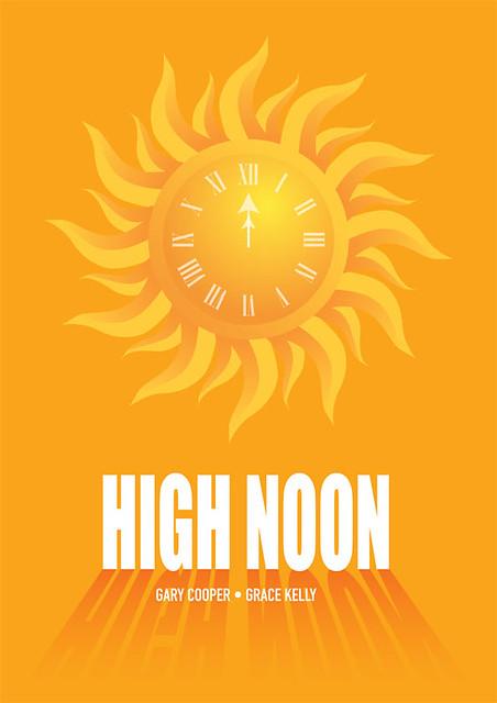 High Noon - Alternative Movie Poster