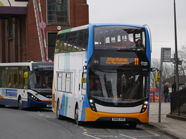 [NEW LIVERY] Stagecoach in Hull 10745 - SN66 VXO