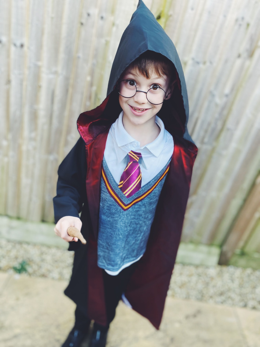 Harry smile world book day
