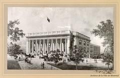 Dessin de la future bibliothèque municipale, par l'architecte Eugène Payette. 1914. BM060-3-2_004