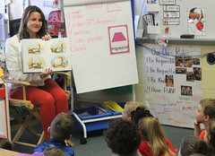 Rep. Carpino participates in Read Across America Day.