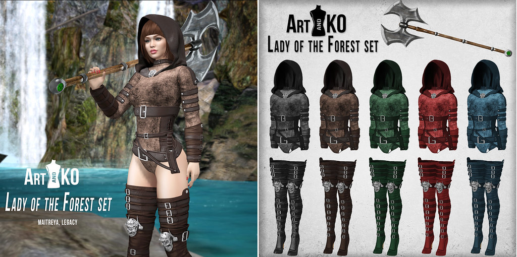 Art&KO – Lady of the Forest set – WLRP