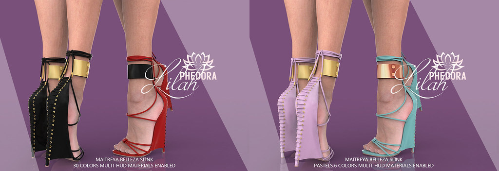"Phedora for Fameshed ~ ""Lilah"" Heels ♥"
