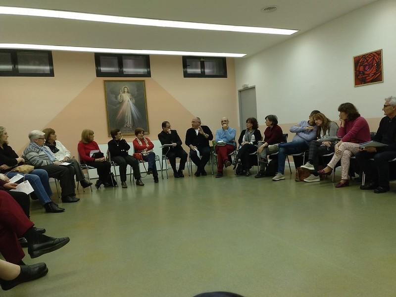 Visita pastoral del Obispo Auxiliar Santos Montoya