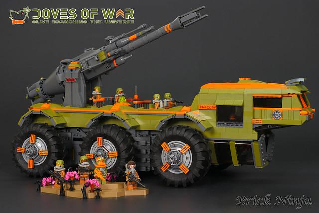 Doves of War Artillery Truck