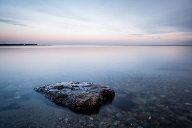 Silent morning, Baltic Sea, Northern Germany