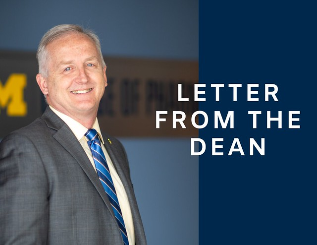 letter from the dean;