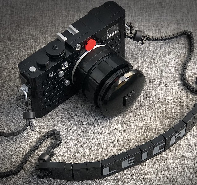 My version of a Leica M camera. Rebuild in LEGO