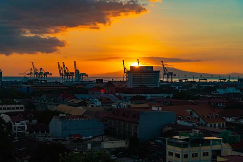 philippines manila sunset manilaharbor
