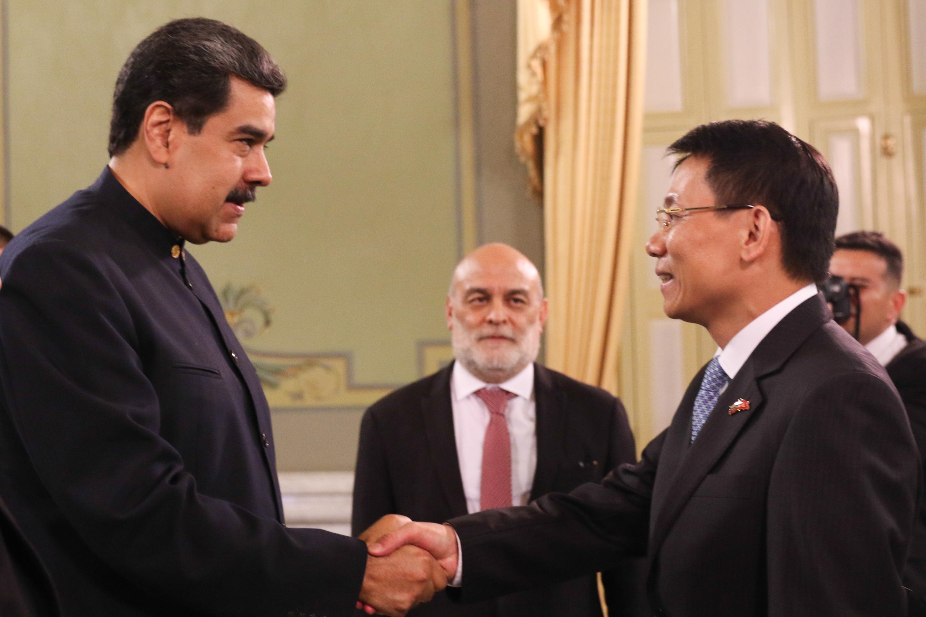 Gobierno venezolano recibe cartas credenciales de la República Socialista de Vietnam