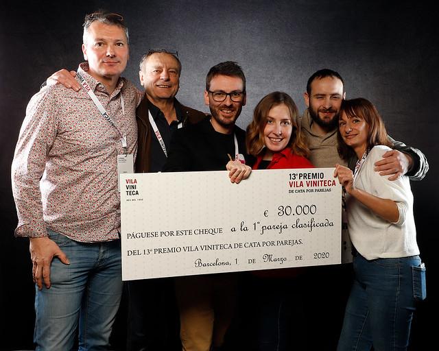 13º Premio Vila Viniteca de Cata por Parejas - Vinos, quesos y ambiente
