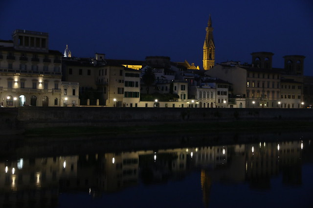 Lungarno by night