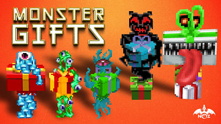 monsterGifts_MarketingKeyArt | by minedragnoz