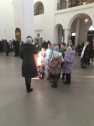 Детская литургия 29.02