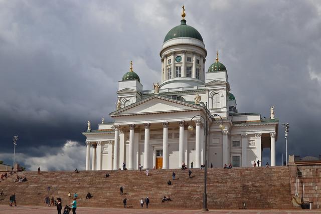 Summer in the city in  Helsinki