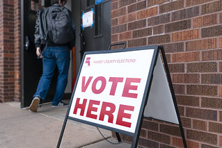 Primary voting in St Paul, Minnesota | by Lorie Shaull