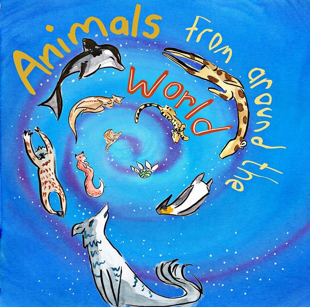 OCA - Children book cover design 1