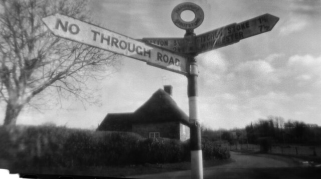 pinhole - cottage at the crossroads