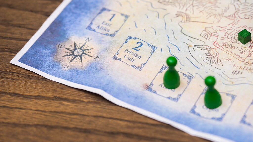the ming voyages juego boardgame
