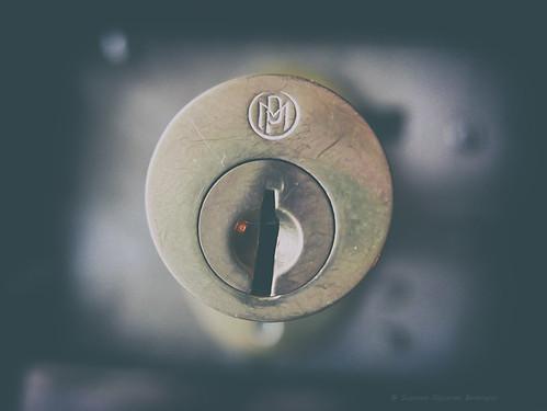 The old broken lock (59 y.o.)