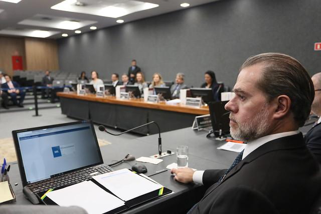 2020-03-03 Assinatura do Formulário Nacional de Avaliação de Riscos