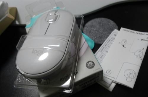 ロジクール ワイヤレスマウス 無線 マウス Pebble SE-M350OW