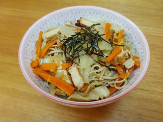 Japanaese Pan-Fried Noodles