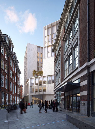Grafton Architects - London School of Economics and Political Science 1, photo courtesy of Grafton Architects