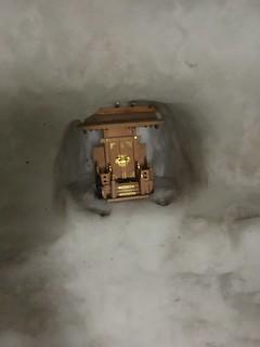 Inside the snow house