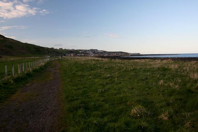 The coast near Gourdon