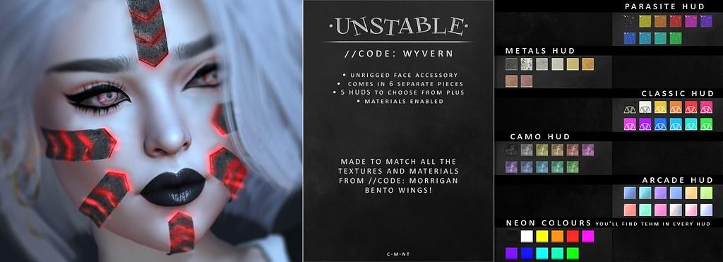 unstable. CODE WYVERN