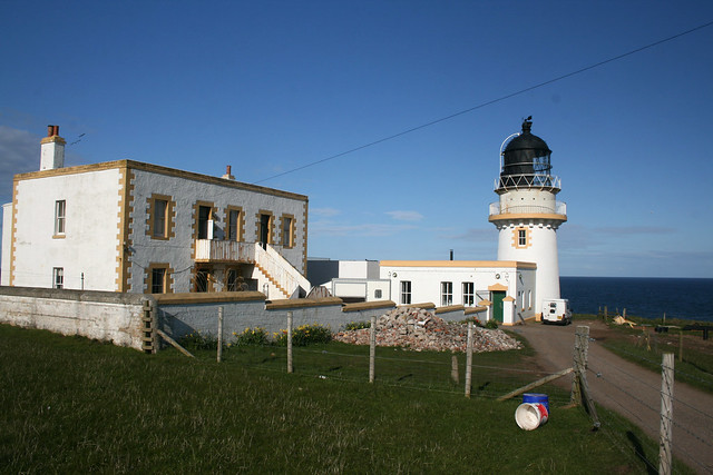 Todhead Point lighthouse
