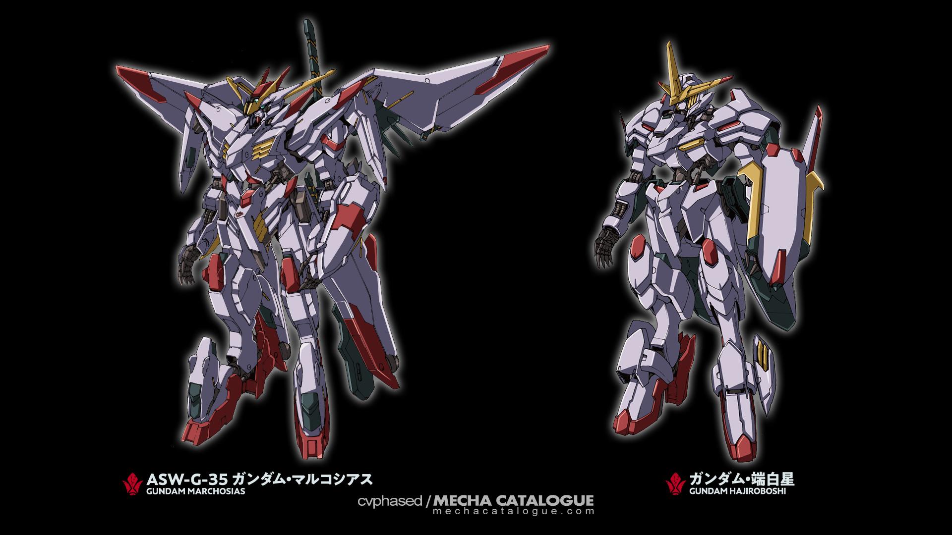 Speculation Time! Gundam Marchosias to Gundam Hajiroboshi