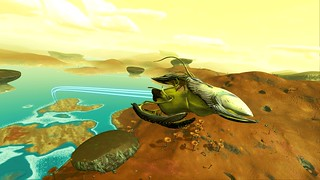Encounters in NMS Living Ships