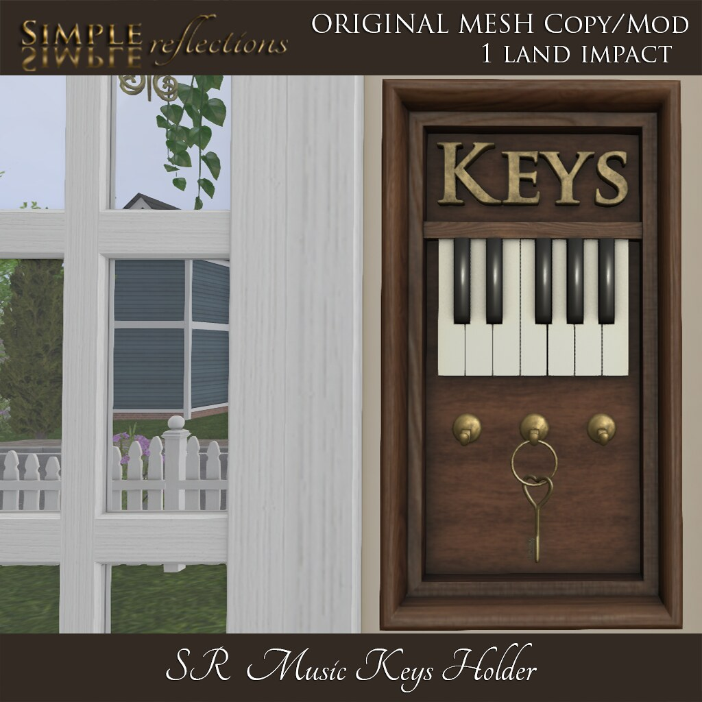 SR Music Keys Holder