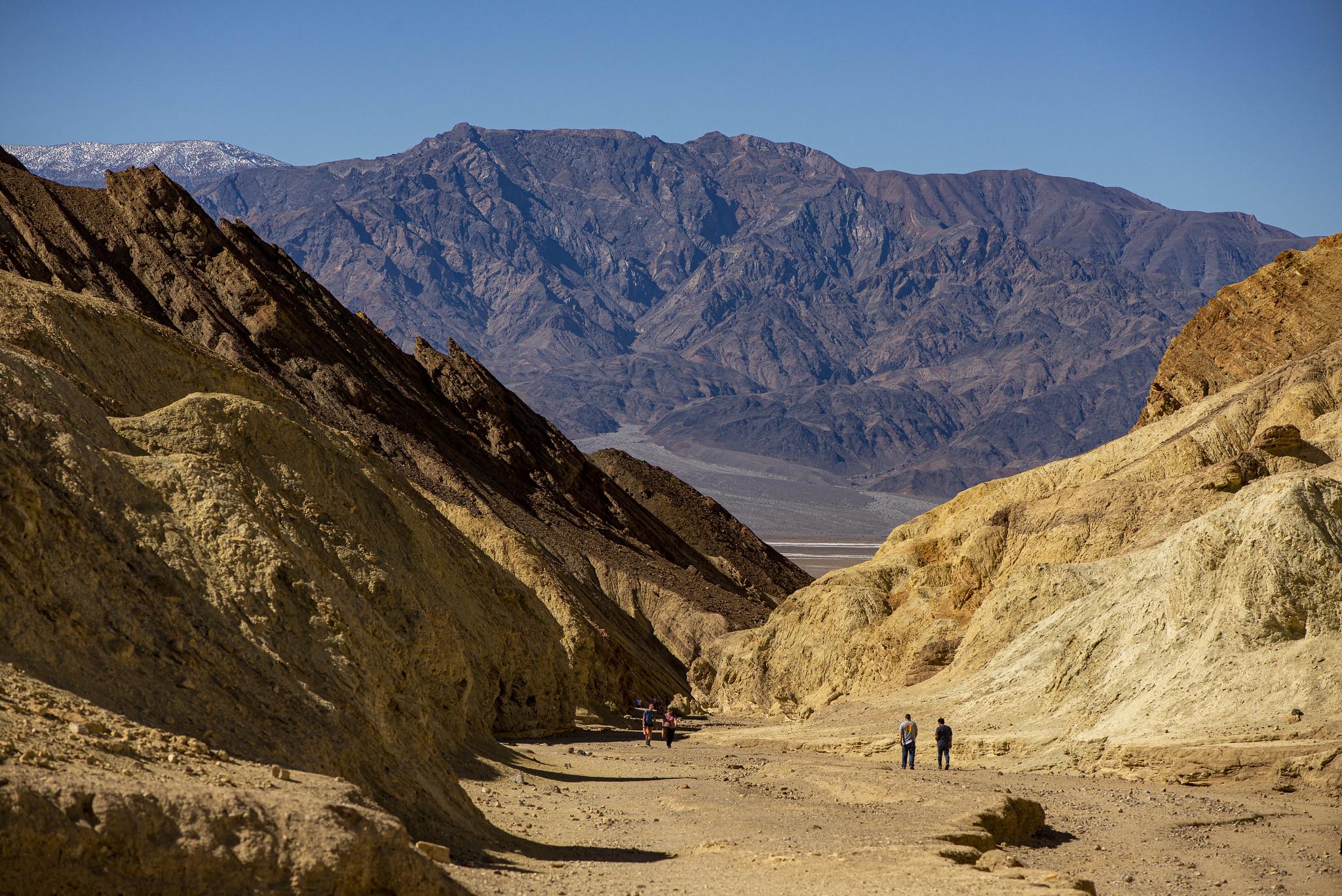 Death Valley Golden Canyon 1