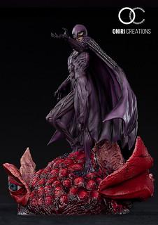 轉生為魔的漆黑之翼... Oniri Creations《烙印勇士》費姆特 闇之翼 1/6比例 全身雕像(FEMTO – THE WINGS OF DARKNESS)