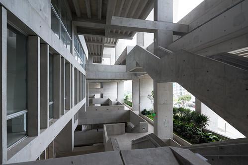Grafton Architects - 利馬工程技術大學 University Campus UTEC Lima 2 , photo courtesy of Iwan Baan