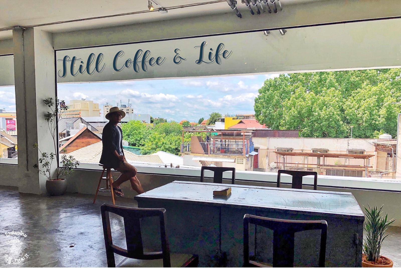 百年市場內的工業咖啡Still Coffee & Life