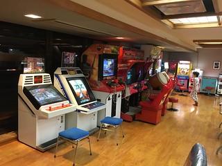 Arcade at the Hot Springs