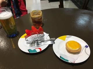 Snacks before boarding the Shinkansen