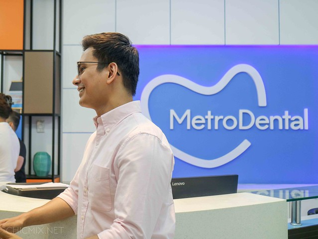 Tom Rodriguez for MetroDental Podium Launch