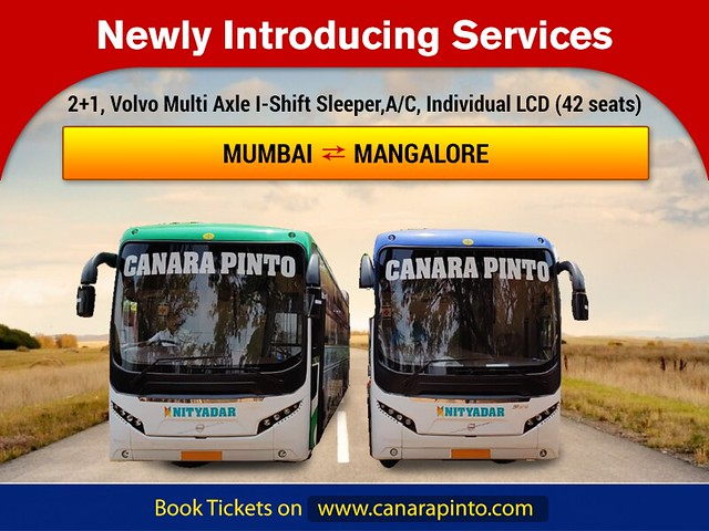 Canara Pinto Travels-Responsive PopUp  Banner