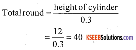 KSEEB Solutions for Class 10 Maths Chapter 15 Surface Areas and Volumes Ex 15.5 1