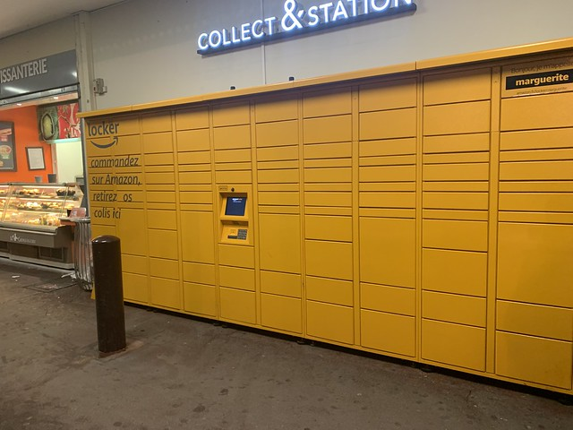 locker Amazon Paris