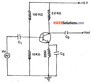 2nd PUC Electronics Previous Year Question Paper June 2017